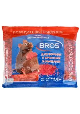 Гранулы от крыс и мышей BROS, 100 г