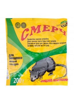 Средство от крыс и мышей Смерч, 200 г