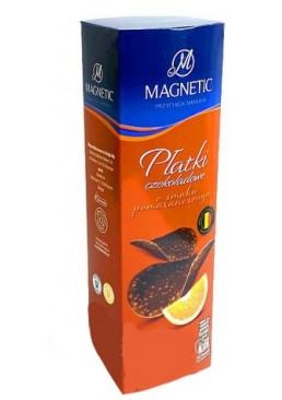 Шоколадные Чипсы Magnetic с апельсином, 125 г