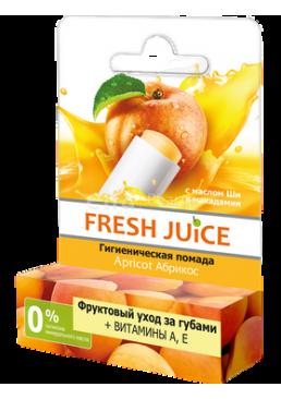 Гигиеническая помада Fresh Juice Apricot 3,6 г, 1 шт