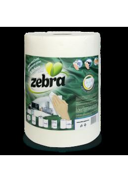 Кухонные полотенца Zebra трехслойные в упаковке, 1 рулон