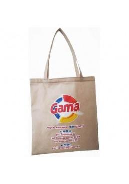 Эко-сумка шоппер для покупок ХимМаркет Gama фирменная, 38 х 42 см