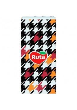 Носовые платочки Ruta Style без аромата 3 слоя, 10 шт