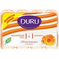 Мыло Duru Soft Sensations Крем и календула, 4 х 90 г