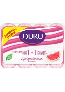 Мыло Duru Soft Sensations Грейпфрут, 4 x 90 г
