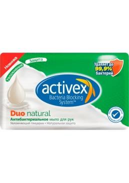 Антибактериальное мыло Activex Duo Натуральная защита, 120 г