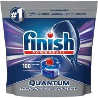 Таблетки для посудомоечной машины FINISH Quantum, 100 шт