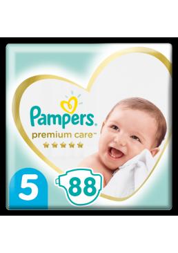 Подгузники Pampers Premium Care Размер 5 (11-16 кг), 88 шт