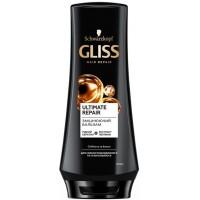 Укрепляющий бальзам GLISS Ultimate Repair для сильно поврежденных и сухих волос, 200 мл