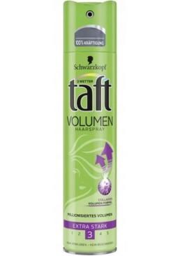 Лак для волос Taft True Volume 3 True Volume для объема, 250 мл