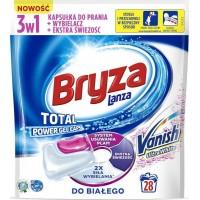 Капсулы гелевые для стирки Bryza Vanish для белого белья, 28 шт