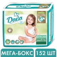 Подгузники Dada Extra Soft 6 extra large (15+ кг), 152 шт
