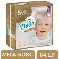 Подгузники Dada Extra Care 5 Junior (15-25 кг), 84 шт