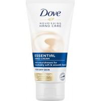 Крем для рук Dove Essential Nourishing Hand Cream Основной уход, 75 мл