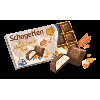 Шоколад Schogetten Almond Сrunch Рождественская серия, 100 г