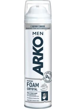 Пена для бритья ARKO Men Crystal, 200 мл