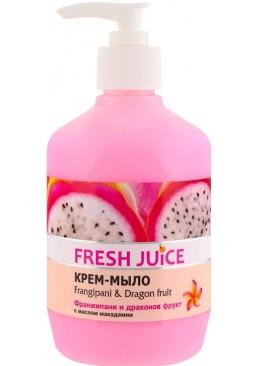Крем-мыло Fresh Juice Frangipani&Dragon fruit, 460 мл