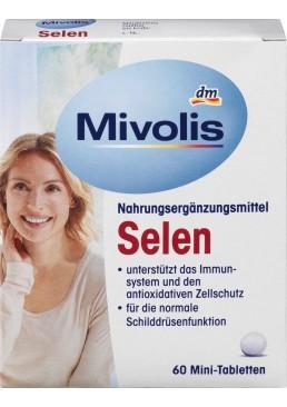 Биологически активная добавка Mivolis Selen 55 мкг, 60 шт