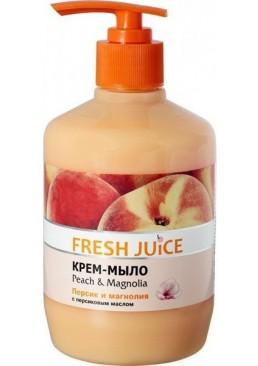 Крем-мыло Fresh Juice Peach&Magnolia, 460 мл
