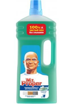 Моющая жидкость для полов и стен Mr. Proper Горный ручей и прохлада, 1.5 л