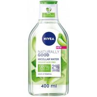Мицеллярная вода Nivea Naturally Good, 400 мл