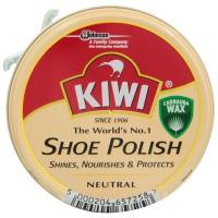 Крем для обуви в банке KIWI Shoe Polish Нейтральный, 50 мл