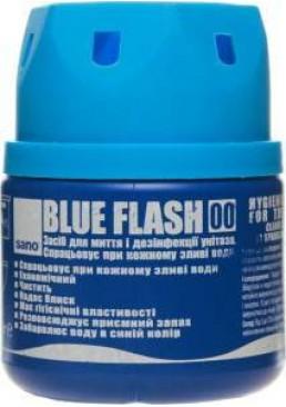 Средство для унитаза Sano Blue Flash, 200 г