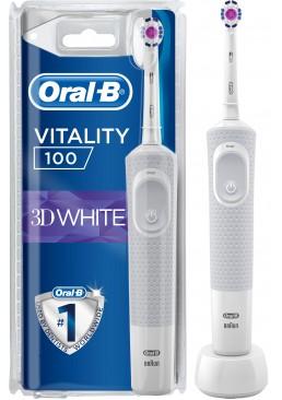 Электрическая зубная щетка ORAL-B BRAUN Vitality 3D White/D100 White