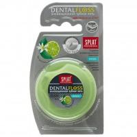 Зубная нить Splat Professional Dental Floss Антибактериальная объемная с ароматом лайма, 1 шт