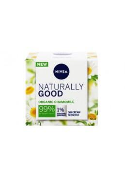 Дневной крем Nivea Naturally Good для чувствительной кожи лица, 50 мл
