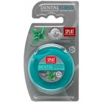 Зубная нить Splat Professional Dental Floss Антибактериальная супертонкая с волокнами серебра Мята, 1 шт