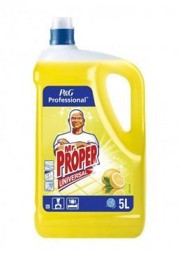 Моющая жидкость для полов и стен Mr. Proper Лимон, 5 л