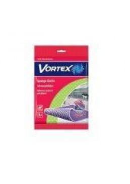 Губчатые салфетки для уборки ТМ Vortex 3шт