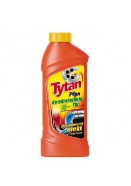 Гель для прочистки канализационных труб Tytan, 500 мл