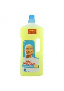 Моющая жидкость для полов и стен Mr. Proper Лимон 1.5 л