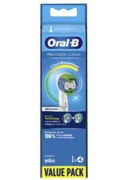 Насадка для зубной щетки Braun Oral-B Precision Сlean Improved, 4 шт