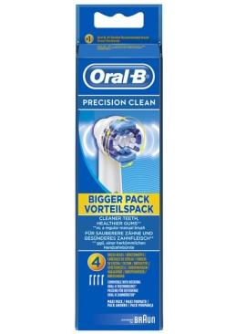 Насадка для зубной щетки Braun Oral-B Precision clean EB-20, 4 шт