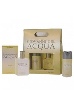 Подарочный набор Jean Marс мужской Giovanni del Acqua (дезодорант аэрозоль Giovanni del Acqua 150 мл + лосьон после бритья Giovanni del Acqua 100 мл)