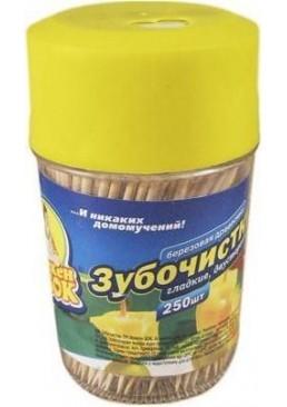 Зубочистки Фрекен БОК деревянные, 250 шт