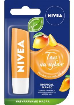 Бальзам для губ Nivea Тропический манго увлажняющий, 4.8 г