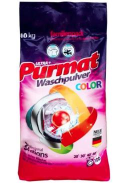 Стиральный порошок Purmat Color для цветного белья, 10 кг (100 стирок)