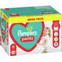 Подгузники - трусики Pampers Pants Размер 6 (15+ кг), 84 шт