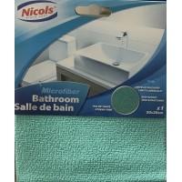 Салфетка Nicols Bathroom Микрофибра для ванной комнаты 30 х 30 см, 1 шт