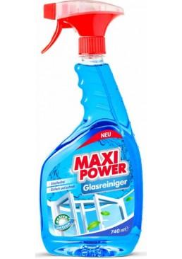 Средство для мытья стекла Maxi Power, 740 мл