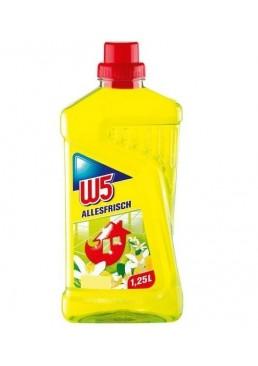 Средство для мытья полов W5 Allesfrisch Лимон, 1 л