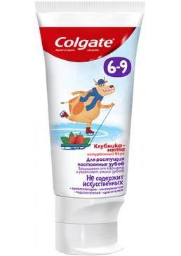 Детская зубная паста Colgate с фтором Клубника-мята от 6 до 9 лет, 60 г