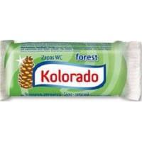 Освежитель для унитаза Kolorado туалетный брусок запасной хвоя, 40 г