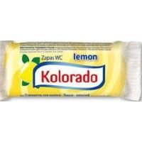 Освіжувач для унітазу Kolorado туалетний брусок запасний лимон, 40 г
