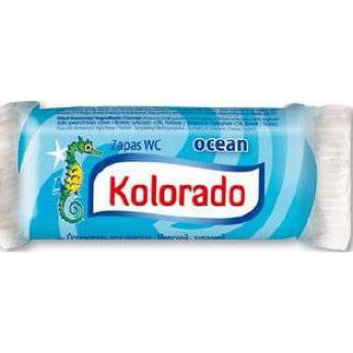 Освежитель для унитаза Kolorado туалетный брусок запасной морской, 40 г -