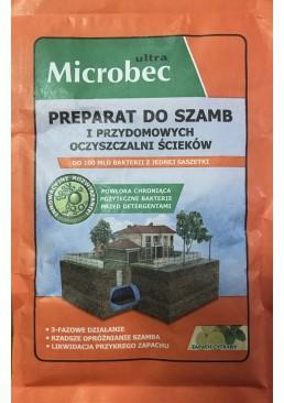 Средство Microbec Ultra для выгребных ям и септиков (лимон), 25 г